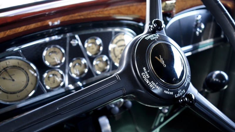Illustration for article titled The Sensational Steering Wheels Of Pebble Beach