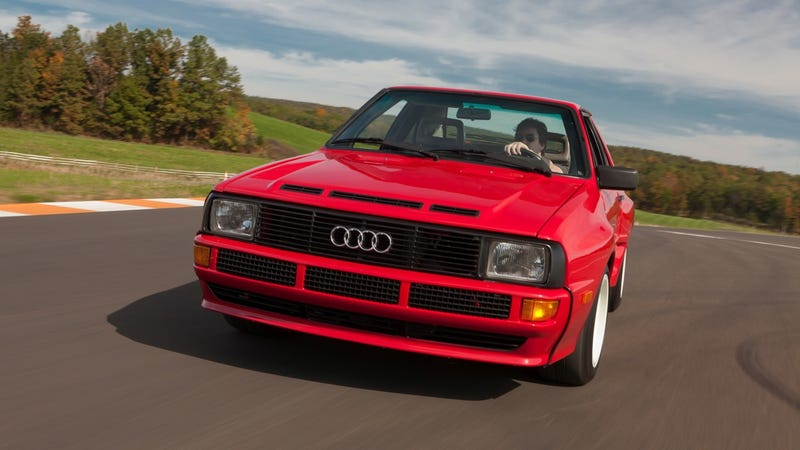 Illustration for article titled Audi Sport Quattro gallery