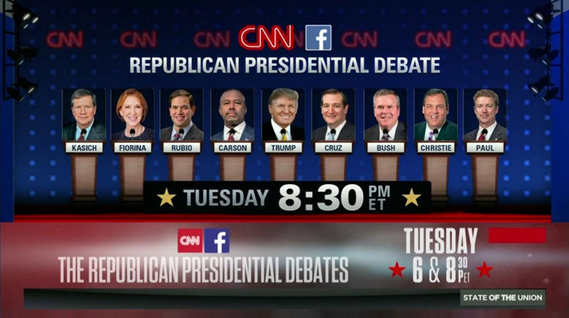 liveblog republican presidential debate coverage