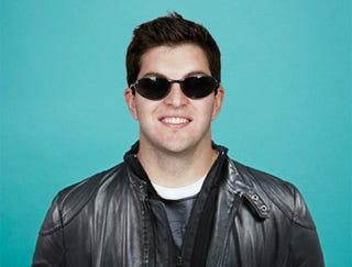 """Illustration for article titled Leather-Jacketed, Sunglasses-Wearing Rex Grossman: """"There's A New Rex In Town"""""""