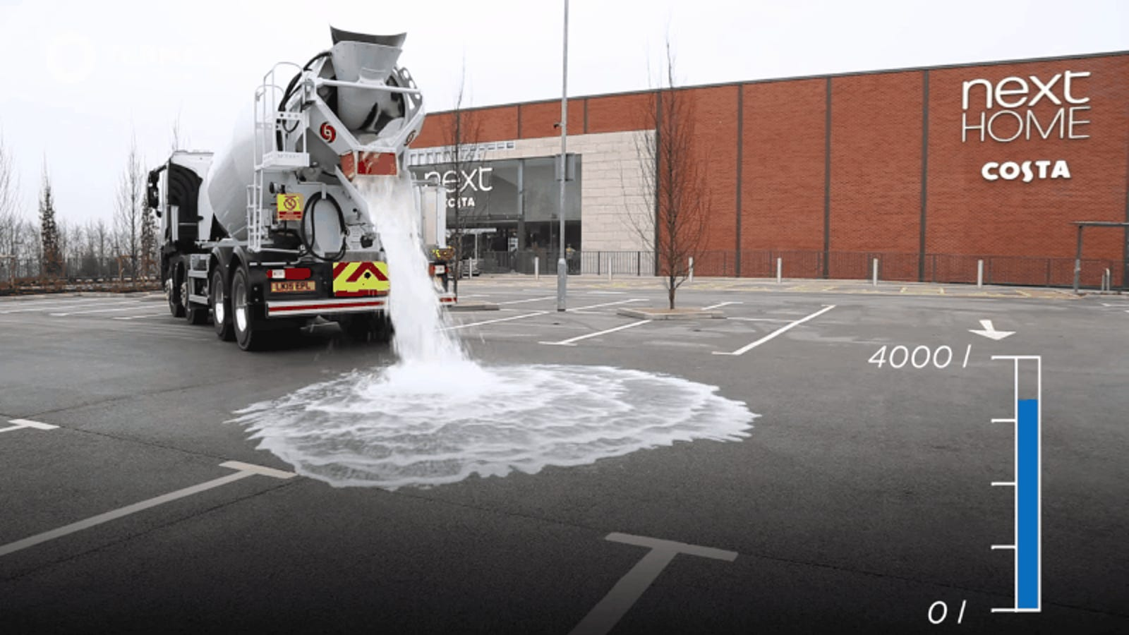 Watch This Magical Concrete Slurp Up 1,000 Gallons of Water In a Minute