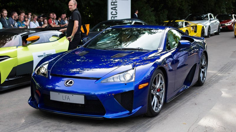 STOP EVERYTHING: There Are 12 Never-Sold Lexus LFAs In The U.S.