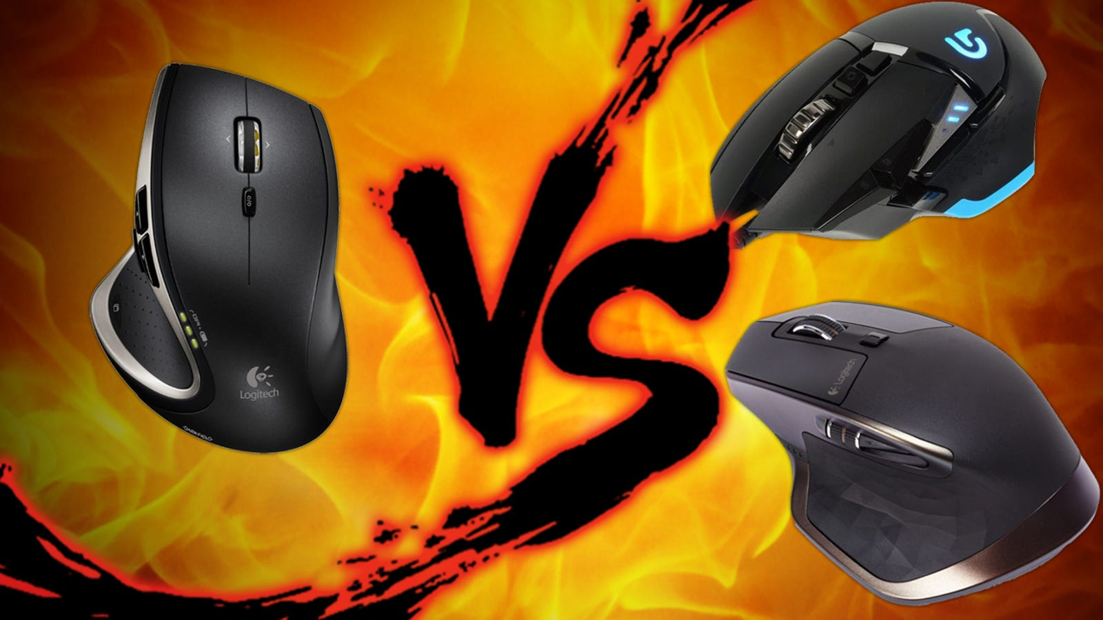 Logitech Mouse Showdown: Performance MX vs  MX Master vs