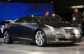 Illustration for article titled REPORT: GM To Build Cadillac Converj Electric Car