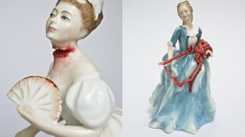 Illustration for article titled Look at This Victorian Doll Ripping Out Her Intestines