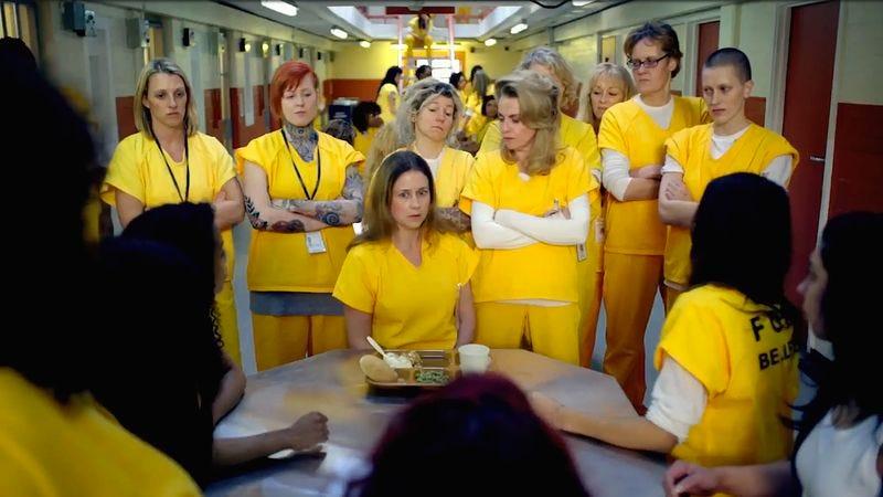 (Jenna Fischer, Megan Mullally) (Photo: NBC)