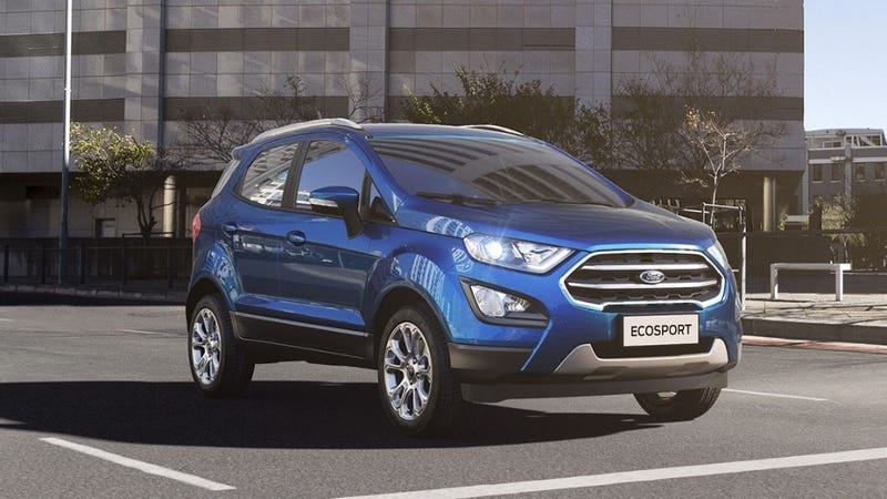 The Ford EcoSport getting the new engine. Photo: Ford of Brazil