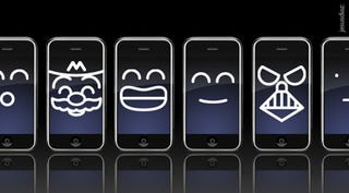 Illustration for article titled The Classic iPhone Face Wallpaper Collection