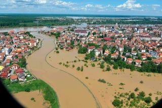 Illustration for article titled Így néz ki az elárasztott Bosznia