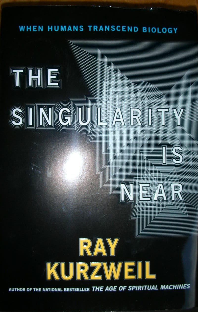 Illustration for article titled Will Ray Kurzweil make Roland Emmerich's Singularity movie even more unrealistic than 2012?
