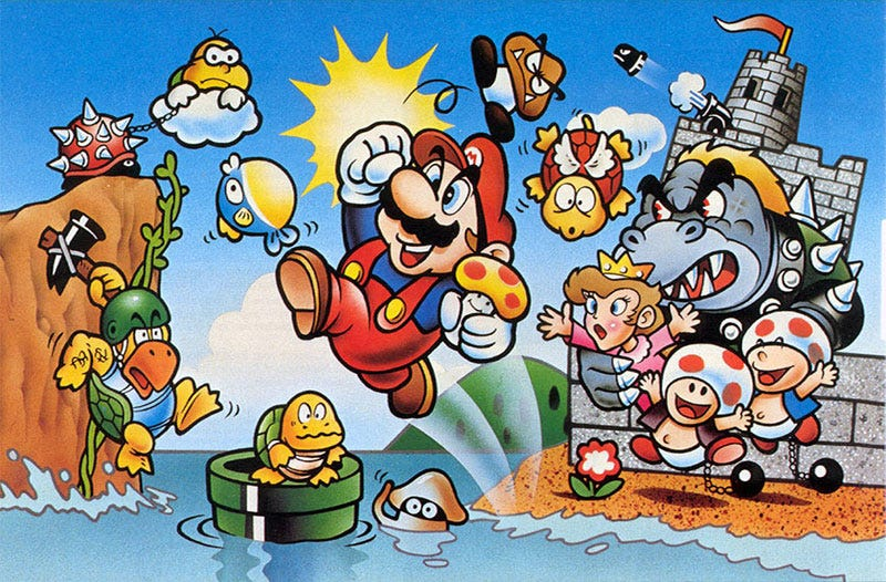 Illustration for article titled Super Mario Bros. Turns 30 Today -- When Did You First Play?
