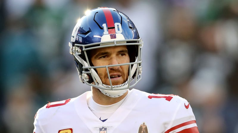 Illustration for article titled What Swear Word Did Eli Manning Have To Look Up?