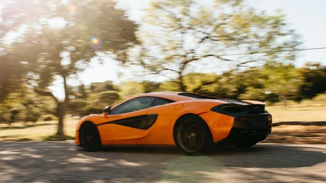 Here's The First All-Electric McLaren P1 Testing On Track