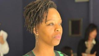 Patrisse Cullors, co-founder of #BlackLivesMatterCourtesy of Telemundo