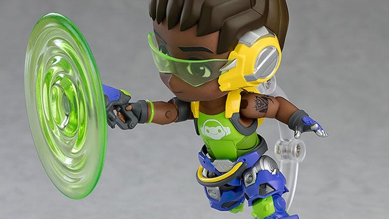 Illustration for article titled Toy Somehow Makes Overwatch's Lucio Even More Adorable
