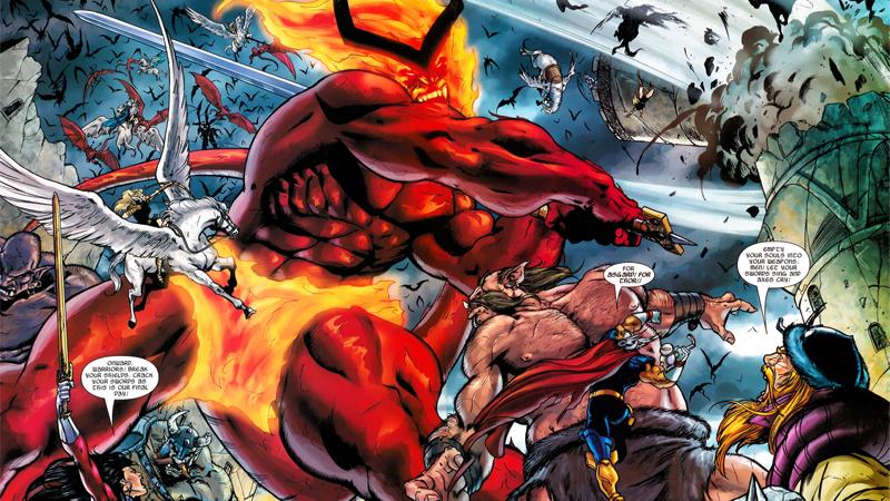Image: Marvel Comics. Thor #85 art by Andrea DiVito and Laura Villari.