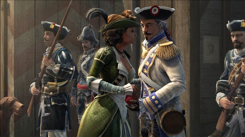 Illustration for article titled Dressing Up Like A Slave (Or A Posh Lady) And Whipping Your Enemies In Assassin's Creed III: Liberation