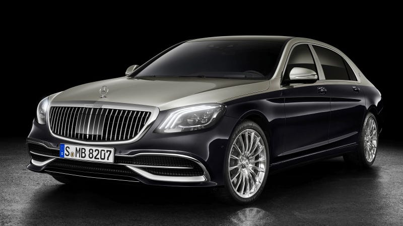 Illustration for article titled The 2019 Mercedes-Maybach S-Class Looks Like A Maybach Again