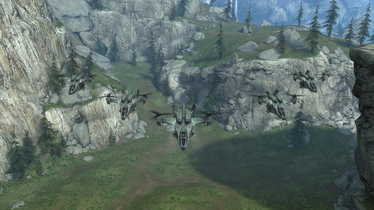The Visual Evolution of the Halo Series This Generation