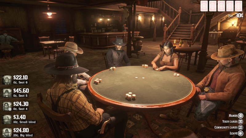 Illustration for article titled Latest Red Dead Online Update Adds Poker, Ponchos And More