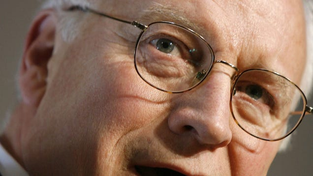 face Dick cheney shoots