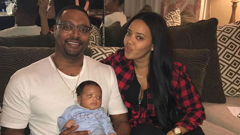 Sutton Tennyson, Angela Simmons and Sutton Jr.