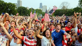 Videos: Fans React To USA World Cup Win