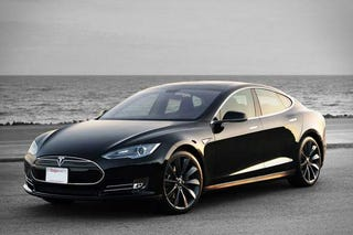 Illustration for article titled The Tesla is the new car to have in South Beach