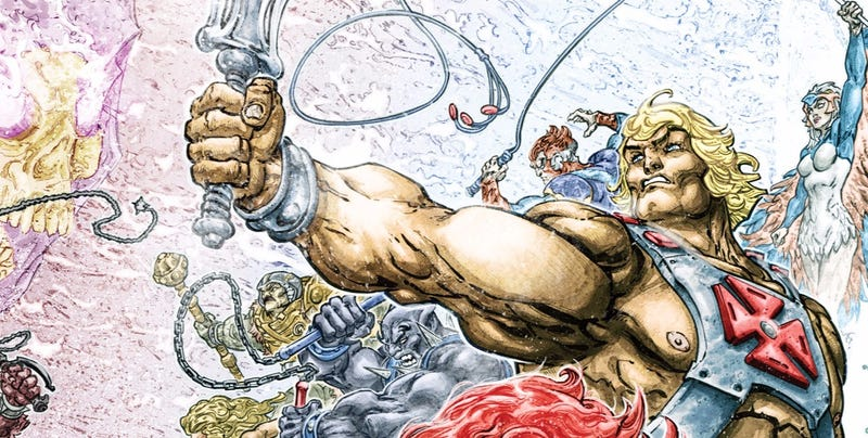 Illustration for article titled Por si 2016 no iba lo bastante mal, DC Comics ha matado a He-Man