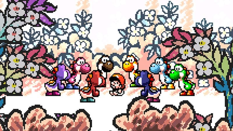 Illustration for article titled How Yoshi's role in the Super Mario World games is a metaphor for parenthood