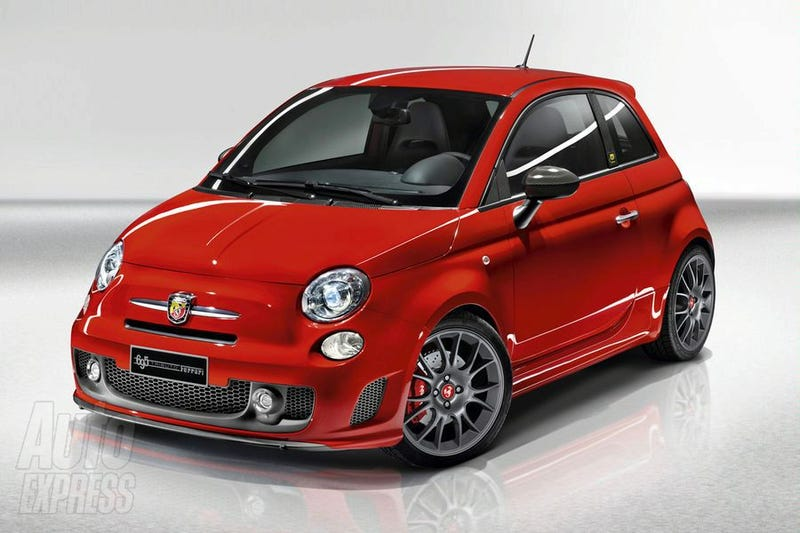 Illustration for article titled 695 Tributo: Ferrari Builds A Fiat 500!
