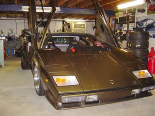 Hand Made Lamborghini Built In Basement Finally Sees Light Of Day