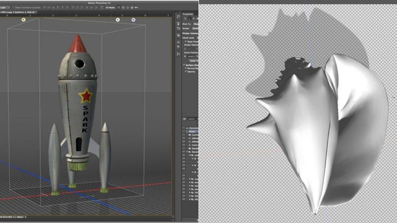 Illustration for article titled Photoshop se pasa a la impresión 3D: añade soporte a estos archivos