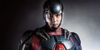 Illustration for article titled Brandon Routh's Atom Outfit On Arrow Looks Almost Upsettingly Great