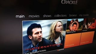 Illustration for article titled Crackle and CinemaNow Are Now Available on Xbox Dashboard