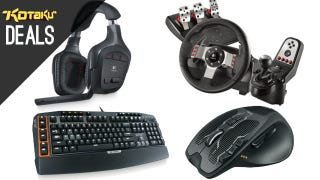 Illustration for article titled Your Favorite Logitech Gaming Accessories Are On Sale Today