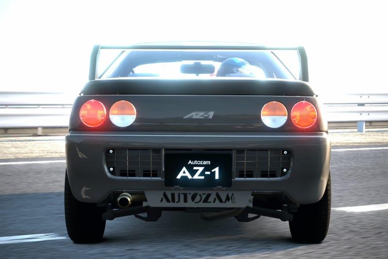 Illustration for article titled Gran Turismo Car Review: Mazda Autozam AZ-1