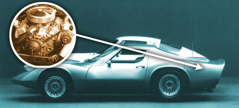 Illustration for article titled Forget The Mid-Engined Corvette: There Was Once A Rear-Engine 'Vette