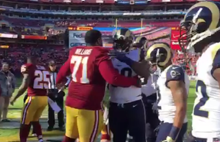 Illustration for article titled Jeff Fisher Taunts 'Skins With RG3 Trade Haul Before Game