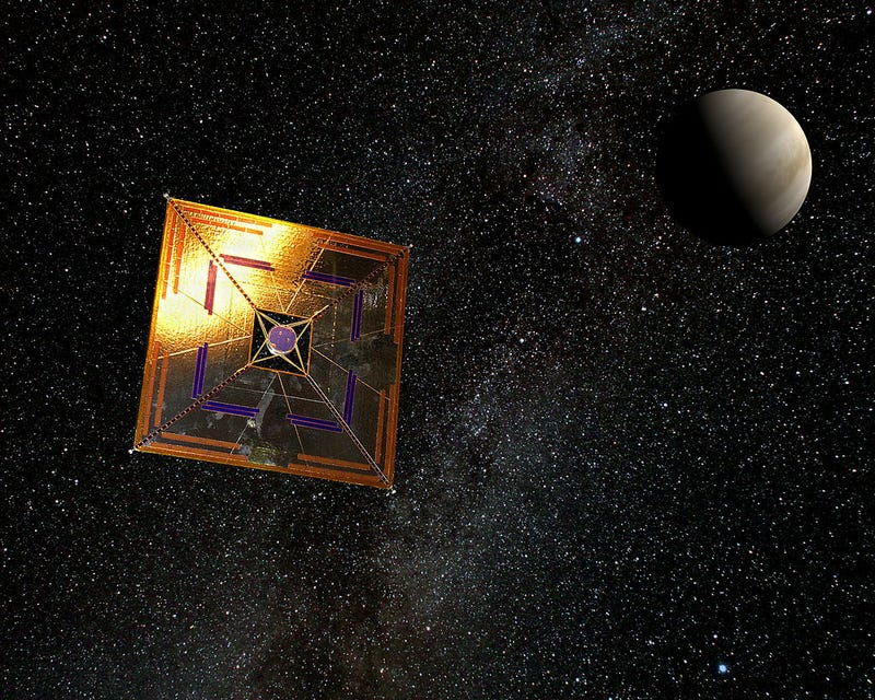 Illustration for article titled This Response To Solar Sail Haters Is On Point (And It Rhymes!)