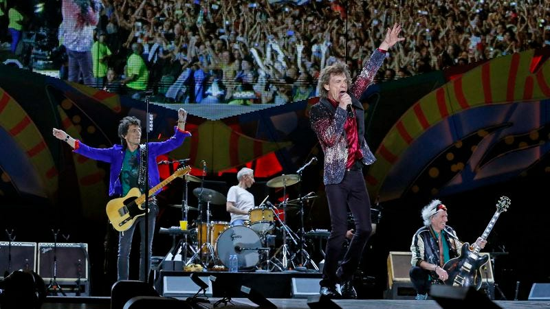 The Rolling Stones play Havana on March 25. (Photo: Getty Images)