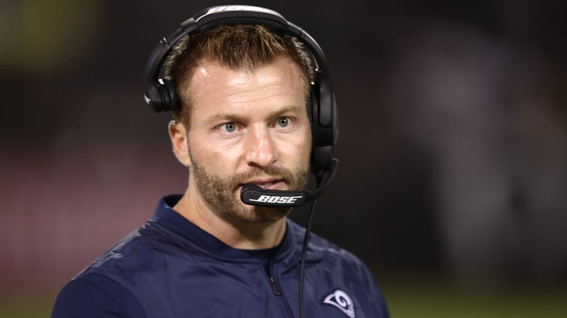 Illustration for article titled Sean McVay Is Doing The Spooky Brain Thing Again