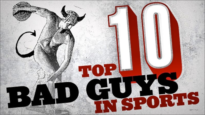 Illustration for article titled The Worst Men In Sports