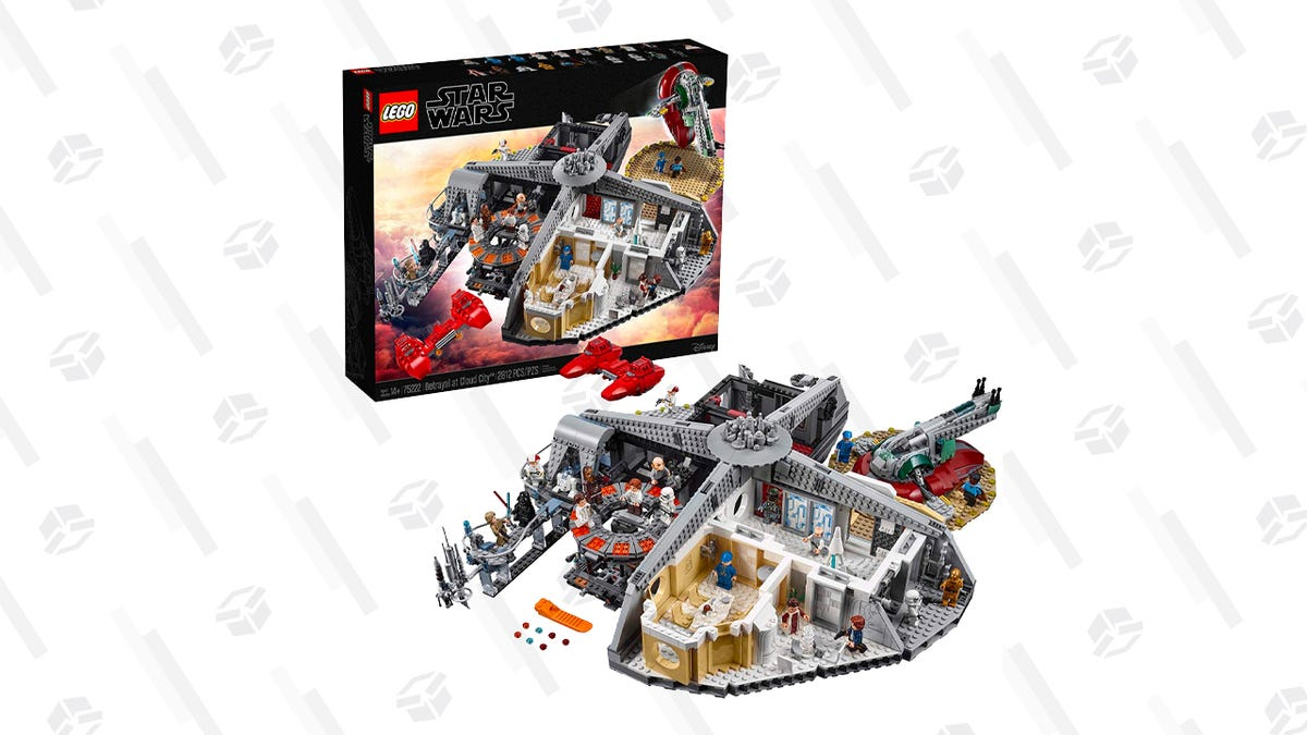This Incredible 2812-Piece Betrayal at Cloud City LEGO Set Is Down To Its Lowest Price Ever