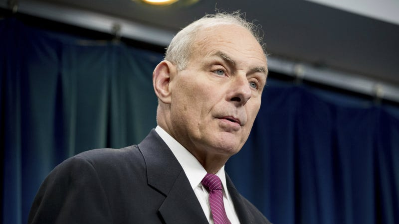 Homeland Security Secretary John Kelly. Photo via AP