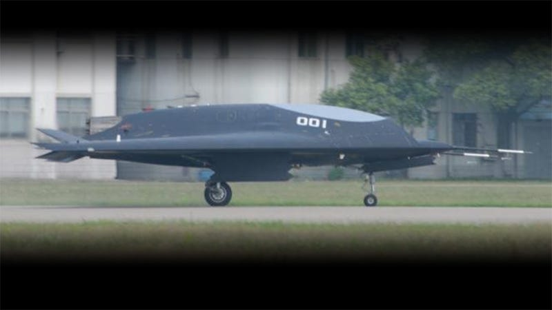 Illustration for article titled China Has Their Own Stealth Drone