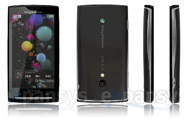 Illustration for article titled Android-Based Sony Ericsson Xperia X3 Full Specs and Large Images
