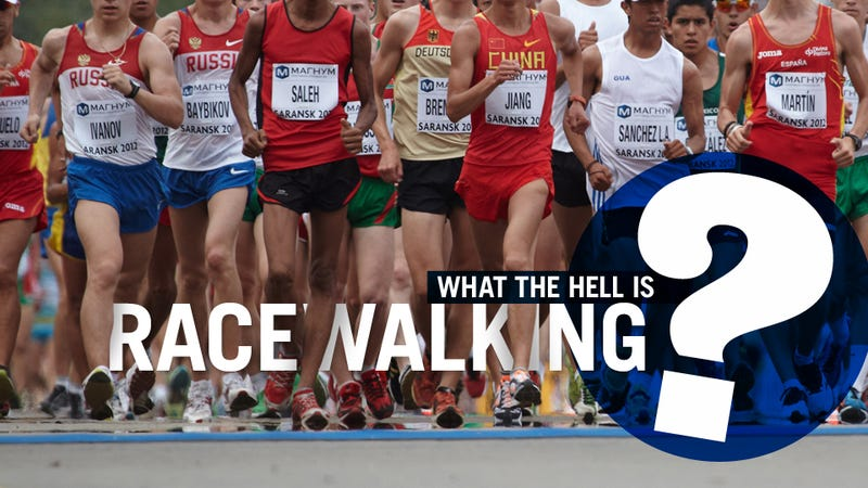 Illustration for article titled Everything You Never Needed To Know About Racewalking