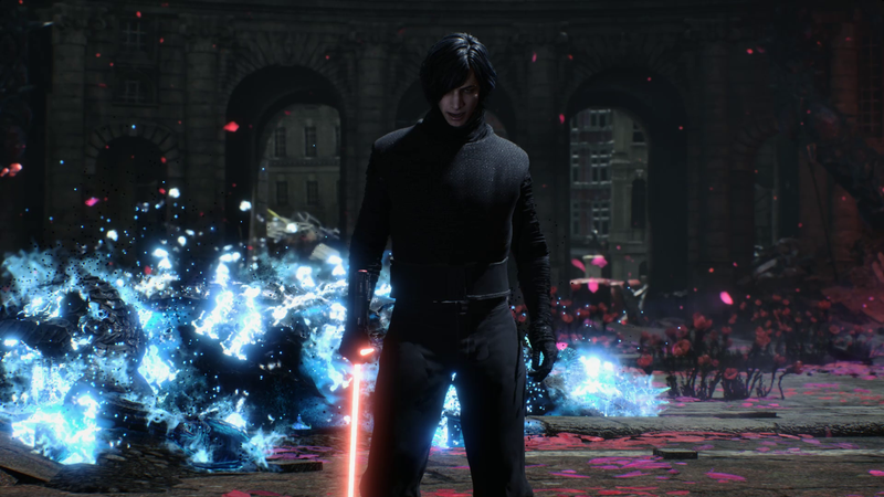 Illustration for article titled Kylo Ren Was Made For Devil May Cry 5