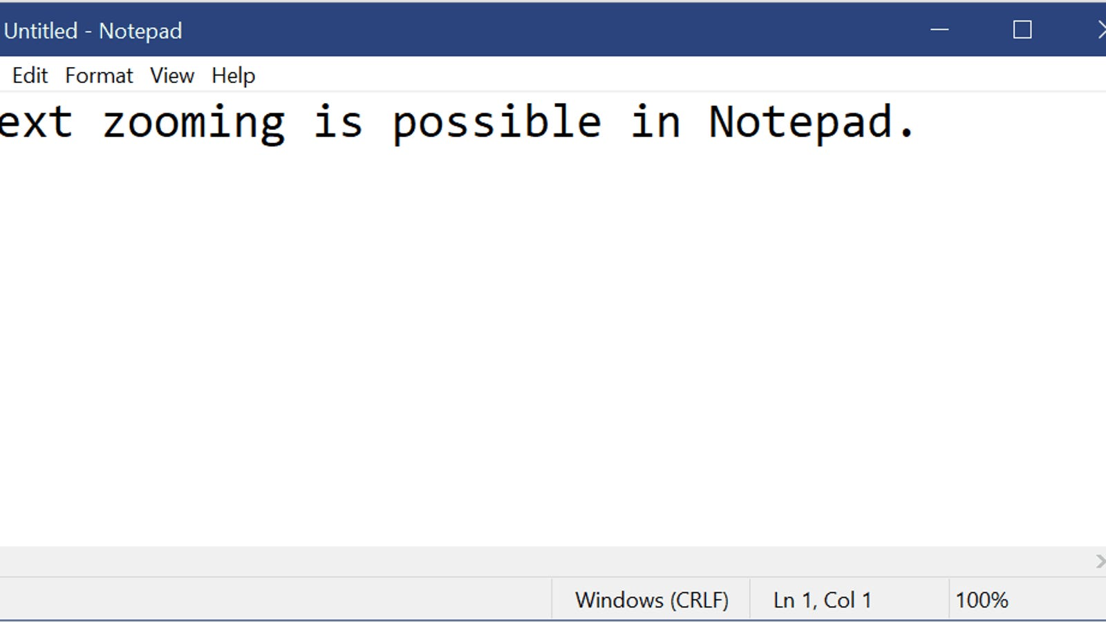Microsoft Notepad Is Finally Getting an Update